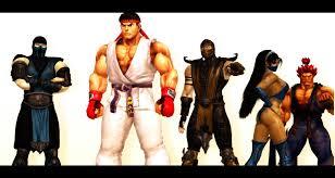 street fighter vs mortal kombat images street fighter vs mortal