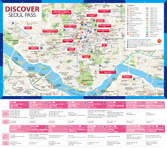 download seoul map tourist attractions  major tourist attractions