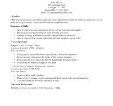 Good Resume Objectives Retail Controller Resume Resume Objective Statement Example New 80