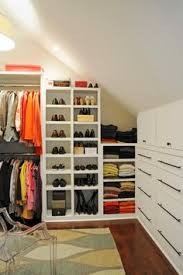 Small Picture Closet design for slanted ceiling Totally will need this