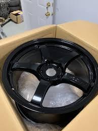 Sold Fs Nyc Gram Lights 57cr Gloss Black 18x9 5 5x120