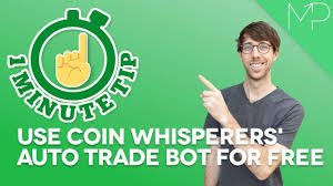 1-minute tip: Use Coin Whisperer's Auto Trader for FREE 🤖 - BTCPeek Methods