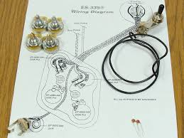 new es 335 pots switch wiring kit for gibson guitar complete new es 335 pots switch wiring kit for gibson guitar complete diagram