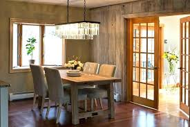 crystal rectangular chandelier dining room amazing wood rustic bird cage r home improvement