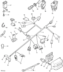 John deere parts diagrams john deere f710 front mower pc2319 main wiring harness switches electrical