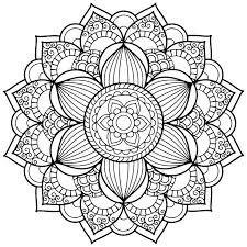 Easy Free Mandala Coloring Pages Easy Mandala Coloring Pages Free To