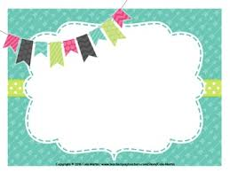 Cute Frames Powerpoint Backgrounds Editable By Cala Martin Tpt