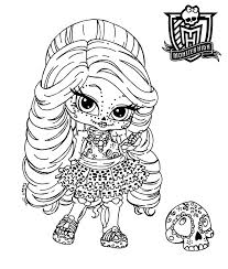 Small Picture Monster High Col Photo Album Gallery Monster High Coloring Pages