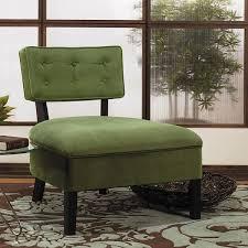 Curves Button Back Slipper Chair