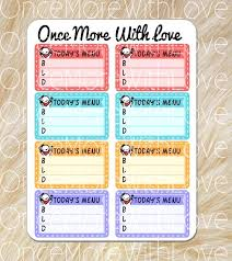 Here Is Preview Of This First Sample Breakfast Menu Template Created ...
