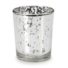 group mercury glass tumbler bathroom