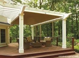 diy pergola canopy manual retractable kit shade