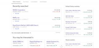 Finance Charts Google Google Finance Update Helps You Follow Finances And Stocks
