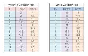 Shoe Size Comparison Chart Between Brands 32 Rational Shoe Brand Size Comparison Chart