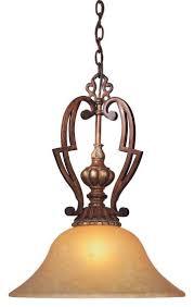 minka lavery belcaro 1 light pendant in bronze