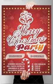 Work Christmas Party Flyers Christmas Party Flyer On Behance30 Christmas Holiday Psd Ai Flyer