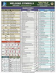 welding symbols chart australia welding symbols quick card builders book inc arch