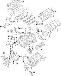 parts com® ford thrust washer mustang upper 3 7l partnumber 2011 ford mustang base v6 3 7 liter gas crankshaft bearings