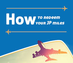 How To Redeem Your Jpmiles Learn How To Earn Use Convert