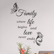 Amazoncom Wall Quotes Decal Wall Stickers Art Decor Family Quote
