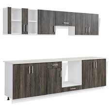Wenge Wood Kitchen Cabinets Vidaxlcouk Wenge Look Kitchen Cabinet Unit With Built In Hot