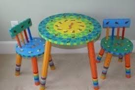 Image Teamson Hand Painted Kids Furniture Etsy Hand Painted Childrens Table And Chairs Ideas On Foter