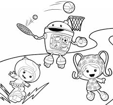 Small Picture Printable Coloring Pages Umizoomi