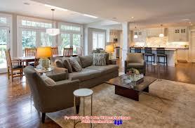 Open Living Room Kitchen Designs Decorating An Open Floor Plan Ideas Acadian House Plans