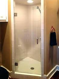 how to install shower door sweep shower door single glass inside sweep ideas installing frameless shower