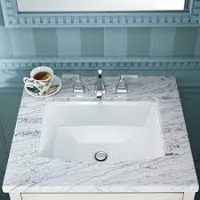 undermount bathroom sink. Rectangular Bathroom Sinks Kohler Archer Ceramic Undermount Sink With C