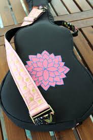 back diy baritone ukulele bag
