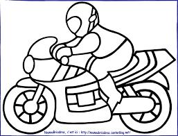 Coloriage Moto Enfant Les Beaux Dessins De Transport Imprimer