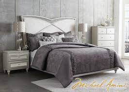 michael amini bedroom. Melrose Plaza 5 Pc. Queen Bedroom By Michael Amini N
