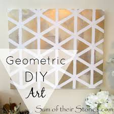geometric diy art on wall art canvas ideas with get creative and show your artistic side with these 50 canvas art