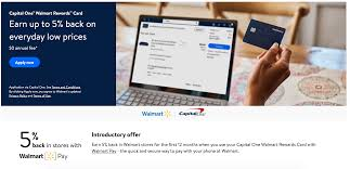 You can pay your walmart credit card by phone using a service called speedpay. Live Walmart Launches New Credit Card With Capital One 5 Back For Online Purchases Introductory 5 In Store Doctor Of Credit