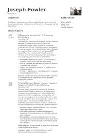 Enterprise Architect Resume Samples Visualcv Resume Samples Database