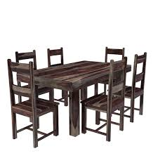 reclaimed wood dining table top rustic farmhouse kitchen table pine dining room set farm style dining table