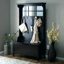 Corner Entry Bench Coat Rack Mesmerizing Related Post Corner Entryway Bench Hallway Storage With Coat Rack