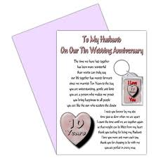 buy wife 10th wedding anniversary card with removable keyring gift Wedding Anniversary Card Wording For Husband buy wife 10th wedding anniversary card with removable keyring gift 10 years our tin anniversary in cheap price on alibaba com anniversary card words for husband