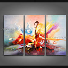 painted amazing modern abstract painting wall art contemporary decor