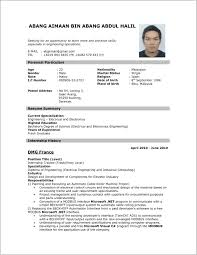Most Updated Resume Format 49889 Updated Resume Templates 2016 Best