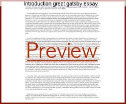 introduction great gatsby essay term paper writing service introduction great gatsby essay