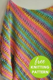 Knit Shawl Pattern Free Cool Design Inspiration