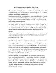 essay dystopia essay