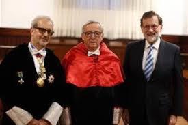 Resultat d'imatges de juncker honoris causa