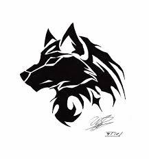 Tribal Wolf Tattoo Google Search Album Tatua