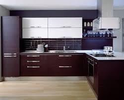 Dark Brown Kitchen Cabinets 3alhkecom A Dark Brown Modern Kitchen Cabinets And Amusing