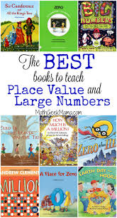 this is such a helpful list of books that can be used to teach place value
