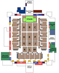 The Nec Arena Birmingham Seating Plan View The Seating