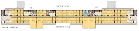 office space floor plan. 2nd Floor Office Space Plan